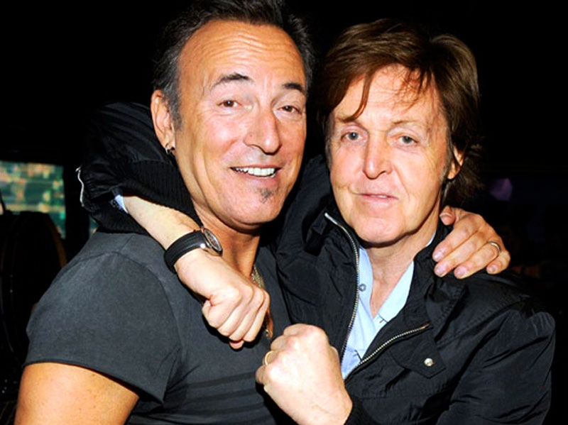 bruce springsteen and paul mccartney thefield. Black Bedroom Furniture Sets. Home Design Ideas