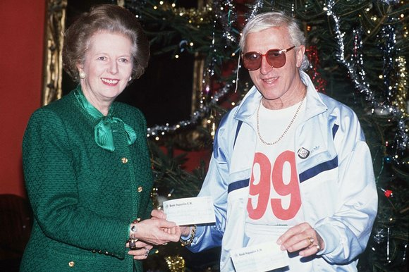 Jimmy Savile In Happier Times