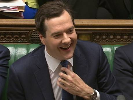 smug git George-Osborne