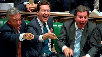 On The Right - Letwin Enjoying Himself