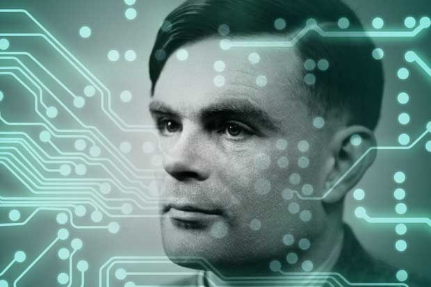Alan Turing computing