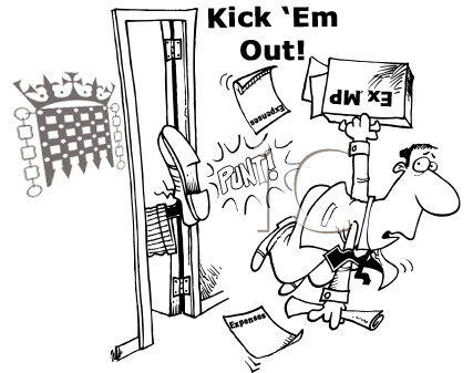Kick them out logo