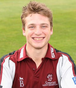 Somerset County Cricket Club in Twenty20 kit. Jos Buttler. Pict