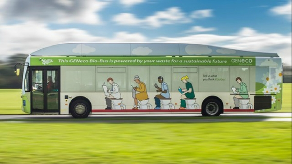 runs on crap bus green