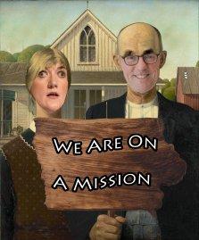 on a mission armish both sign