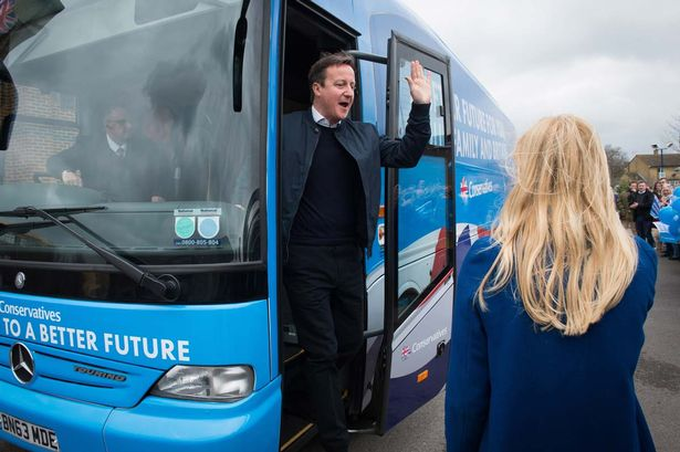 a tory election bus fraud