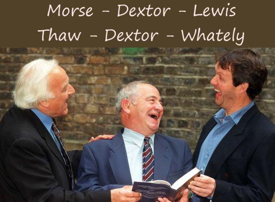 Inspector Morse Lewis Dextor titles
