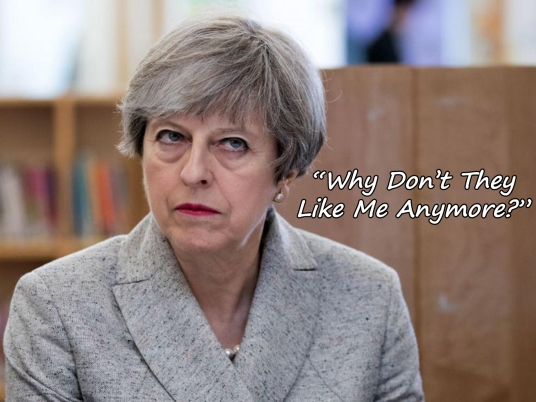 theresa-may less popular like me
