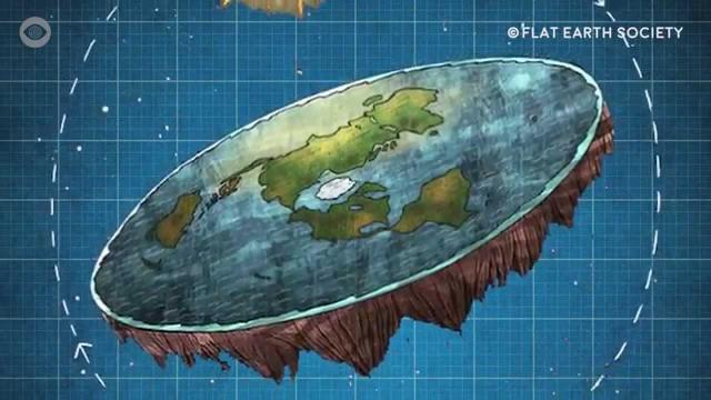 flat earth n